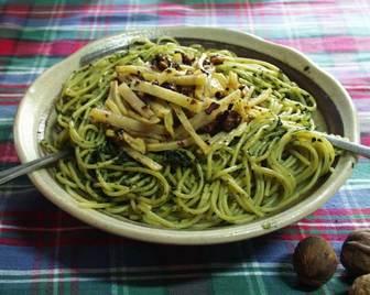 緑茶パスタ